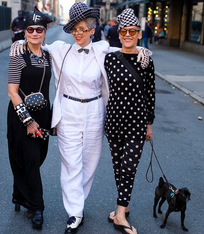 fun and chic looks at the New York Easter Parade | 40plusstyle.com