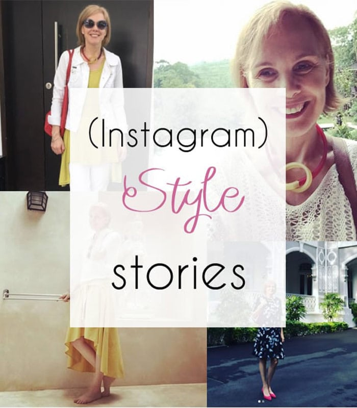 (instagram) style stories | 40plusstyle.com