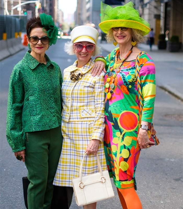 More fun and chic looks at the New York Easter Parade