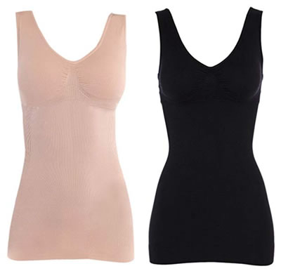 Firm shaping camisoles | 40plusstyle.com