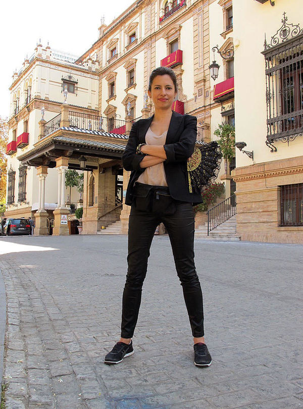 Modern nomad chic in Sevilla, Spain Cynthia Paez Bowman | 40+ Style