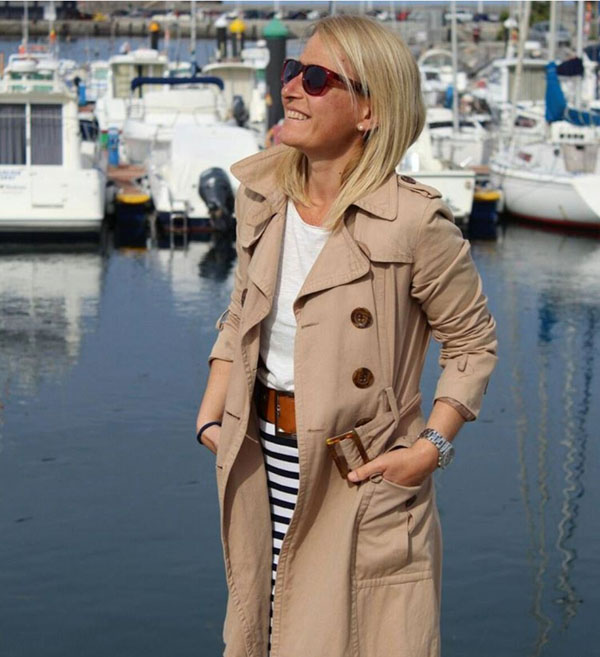 Ideas on how to wear sunglasses with a nautical style | 40plusstyle.com