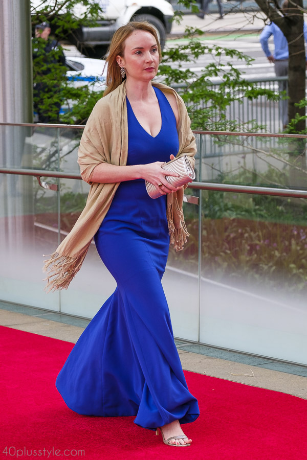 Simple and elegant nude shawls are a great style piece for a polished look   40plusstyle.com