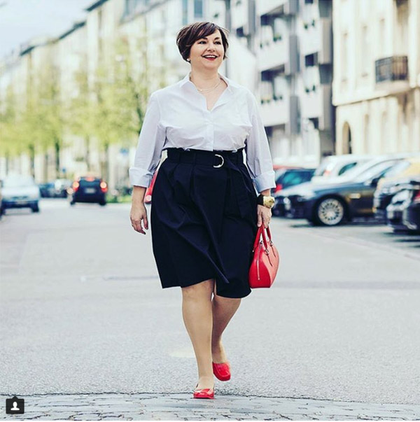 #40plusstyle inspiration: Slimming belts