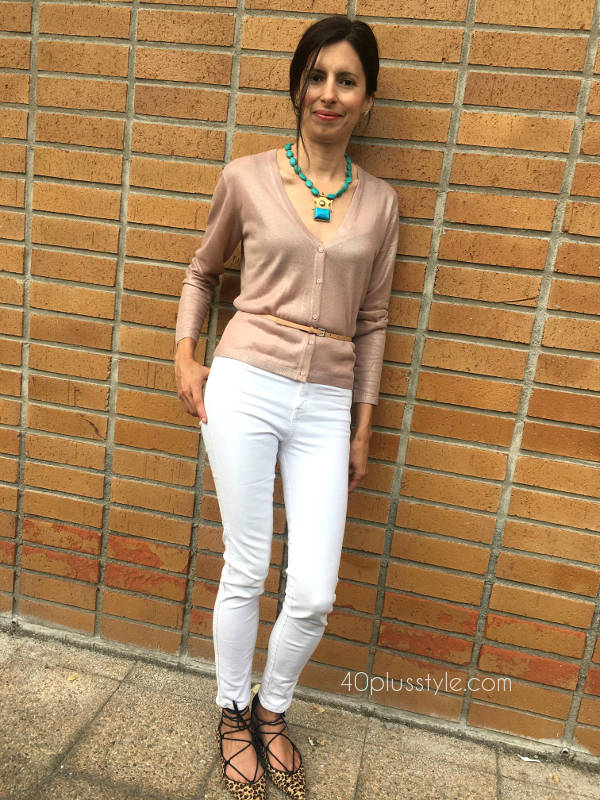 How to style a cardigan for spring | 40plusstyle.com