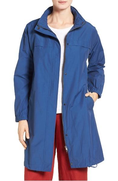Eileen Fisher women's trench coat | 40plusstyle.com