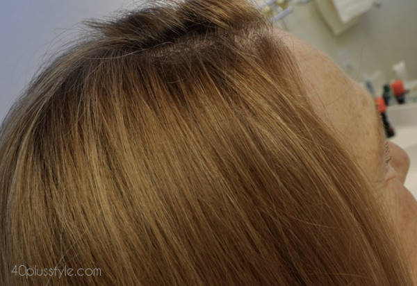new highlights soften the gray roots | 40plusstyle.com