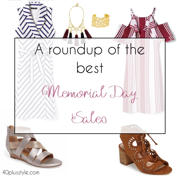 A roundup of the best Memorial Day sales | 40plusstyle.com