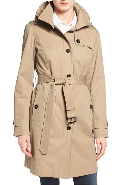 women's trench coat michael hors | 40+ style