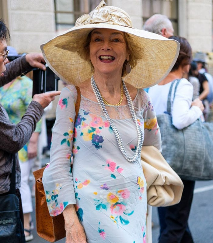 More Fun And Vibrant Outfits At The New York Easter Parade | 40plusstyle.com