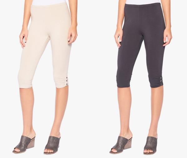 capri leggings | 40plusstyle.com