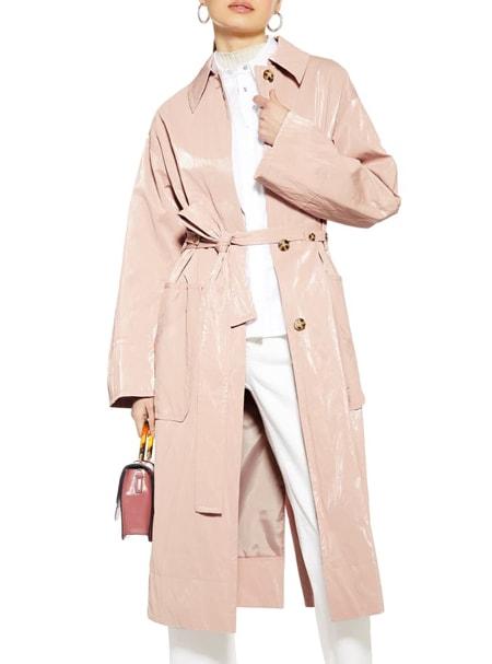 Topshop coat | 40plusstyle.com