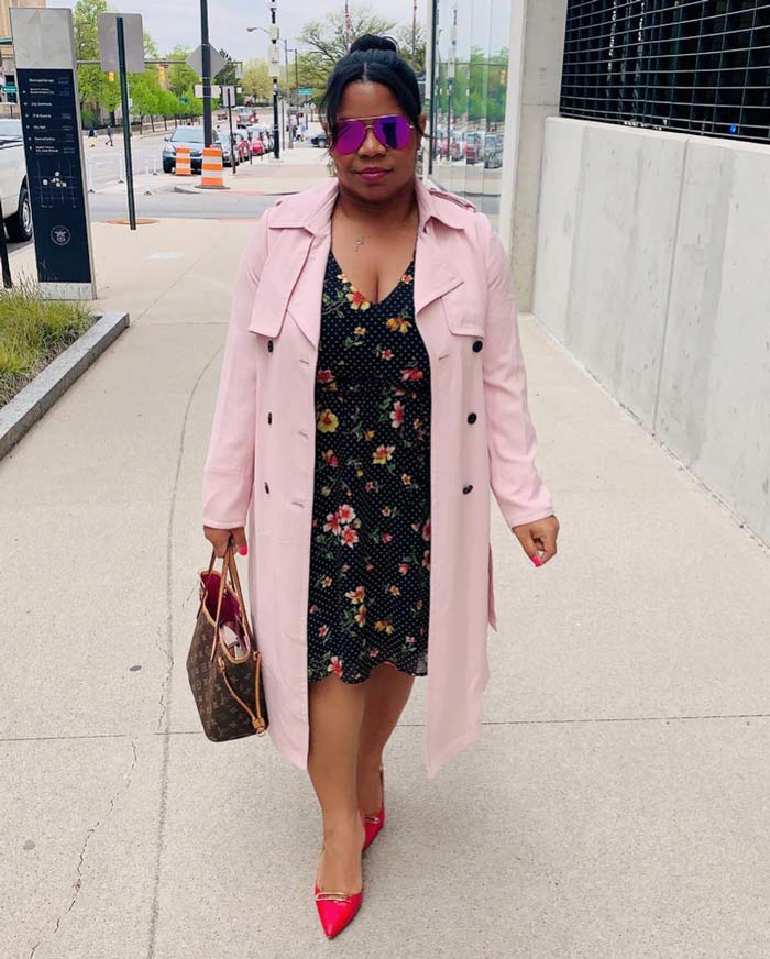 weekend brunch trench coat outfit idea | 40plusstyle.com