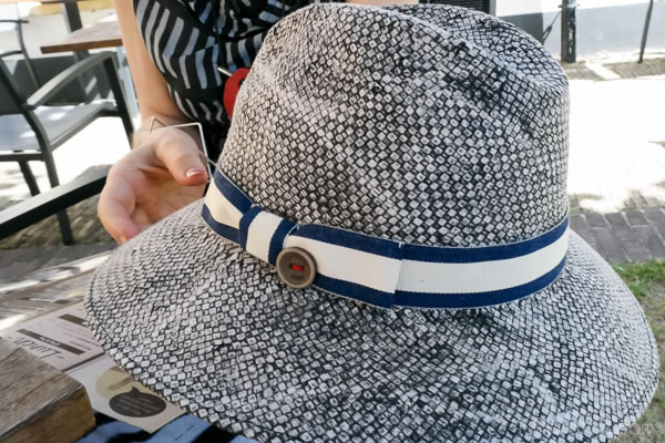Chic hat for the daytime and afternoon | 40plusstyle.com