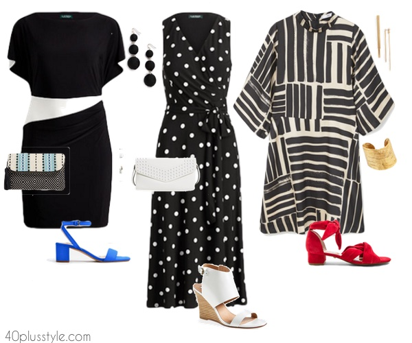 Outfit ideas for a bridal shower  40plusstyle.com