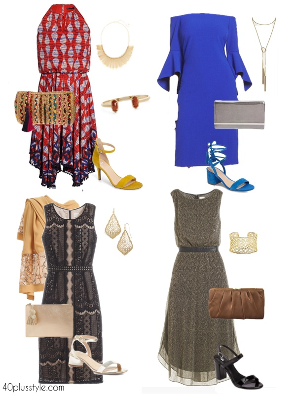 Dressy cruise ship outfits for dinner | 40plusstyle.com