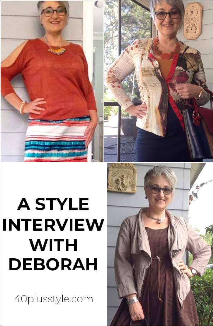A style interview with Deborah | 40plusstyle.com