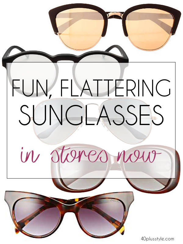 how to pick the best sunglasses for older women | 40plusstyle.com