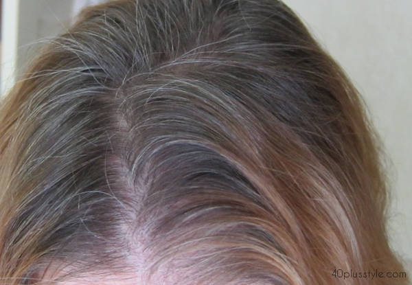 going gray and how it's looking a few months later | 40plusstyle.com
