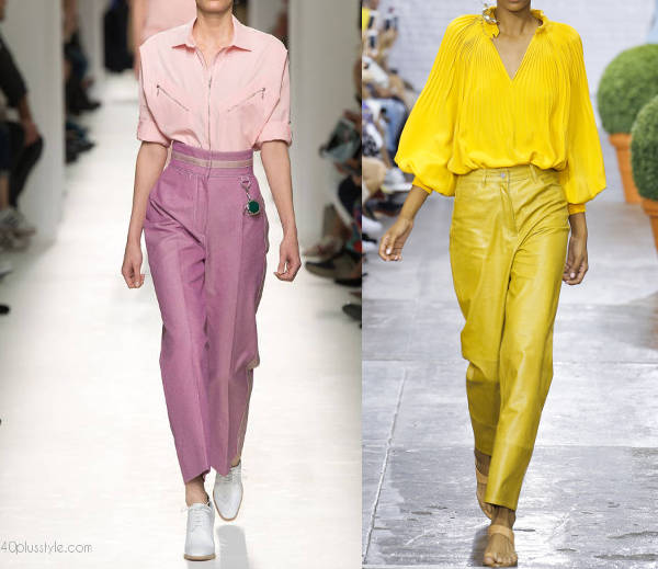 Best color blocking looks for 2017 - 40plusstyle.com