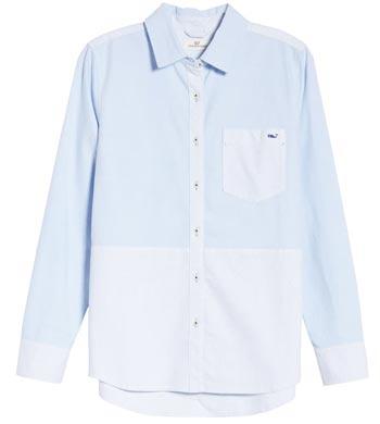 Vineyard Vines button-up shirt   40plusstyle.com