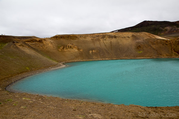 Travel diary: Kerið, Iceland's volcanic crater lake| 40plusstyle.com