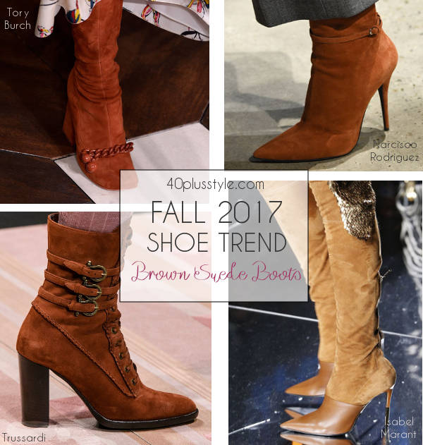 suede shoe trend for fall 2017   40plusstyle.com