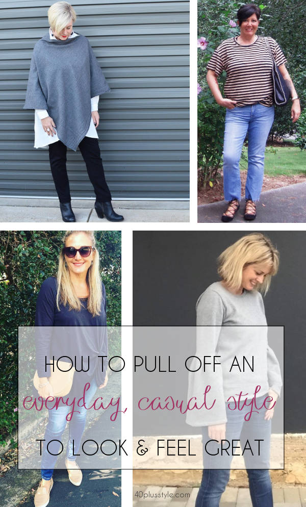 everyday, casual style ideas for busy women | 40plusstyle.com