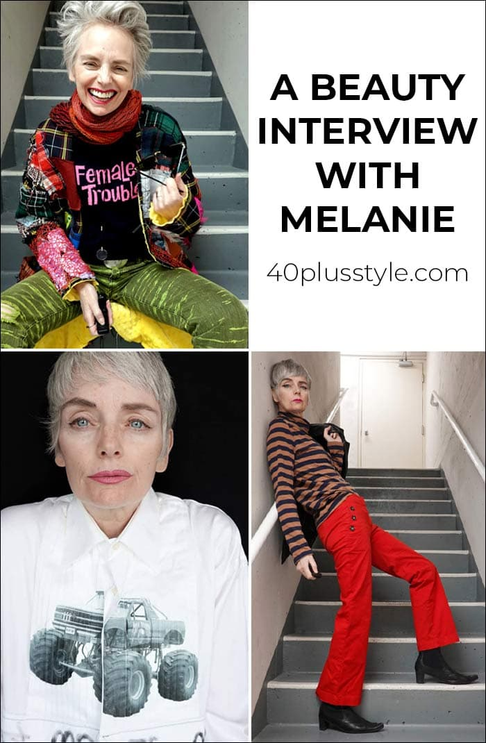 Having fun with makeup and hair - A beauty interview with Melanie