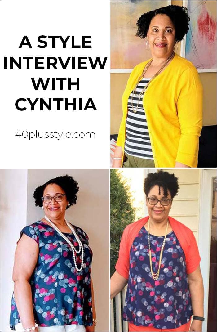 A style interview with Cynthia | 40plusstyle.com