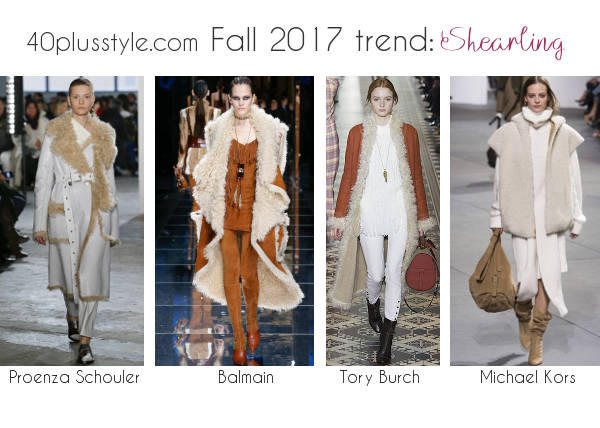 how to wear fur and shearling | 40plusstyle.com