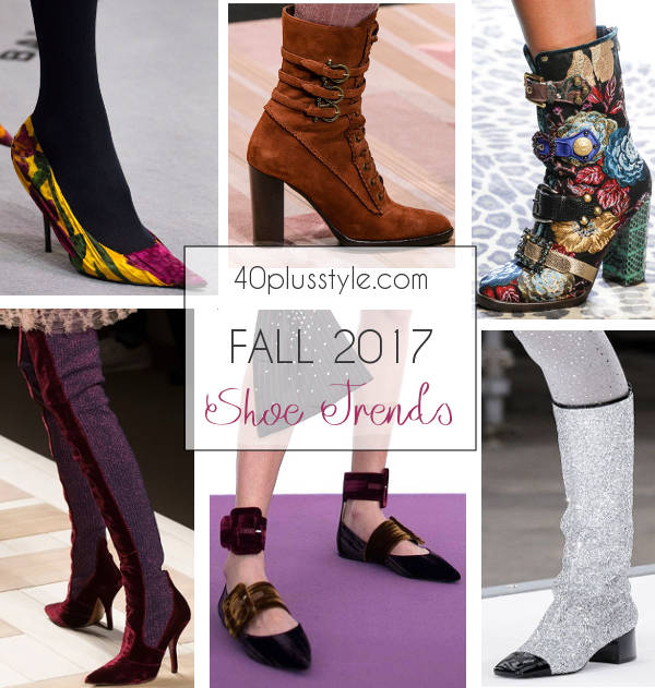 7 Fall 2017 shoe trends that add high fashion to your autumn look   40plusstyle.com
