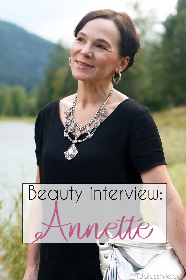 How to get radiant skin - a beauty interview with Annette  | 40plusstyle.com