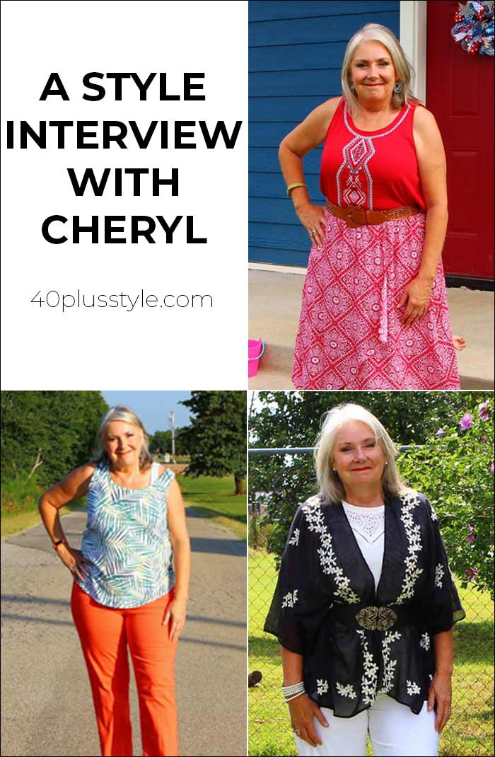 A style interview with Cheryl | 40plusstyle.com