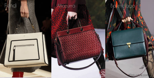 fall 2017 handbag trends | 40plusstyle.com