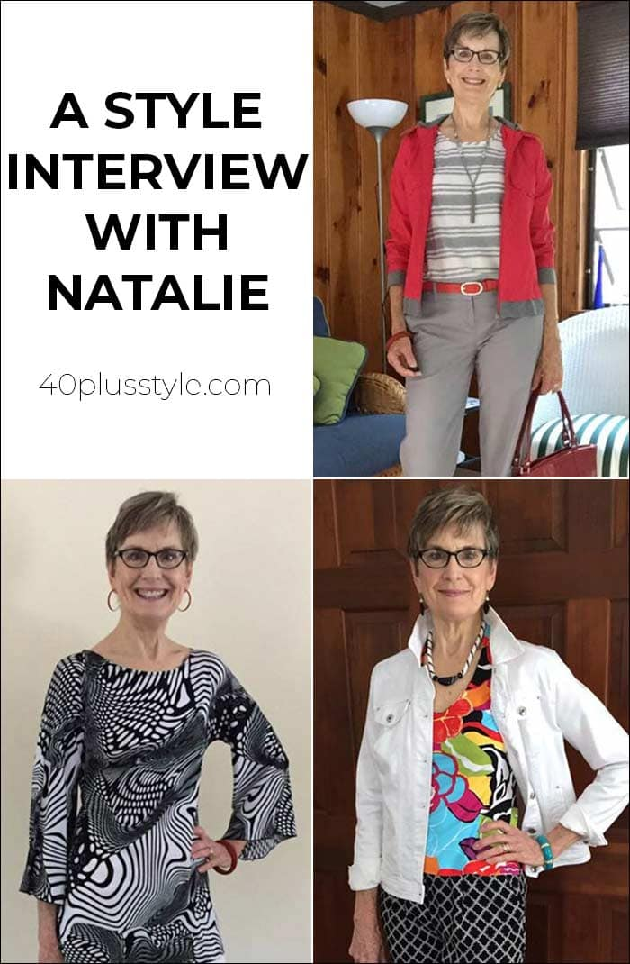 A style interview with Natalie | 40plusstyle.com