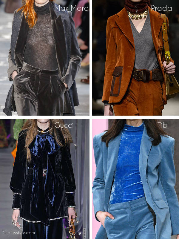 how to wear a velvet jacket his fall | 40plusstyle.com