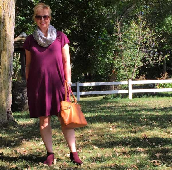 Chic scarf looks for Fall | 40plusstyle.com