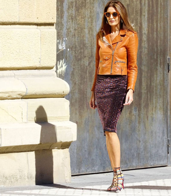 Great looks with brown leather jackets   40plusstyle.com