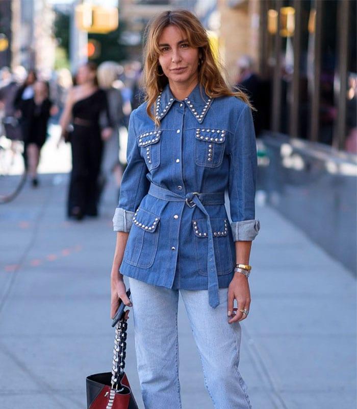 How to wear denim | 40plusstyle.com