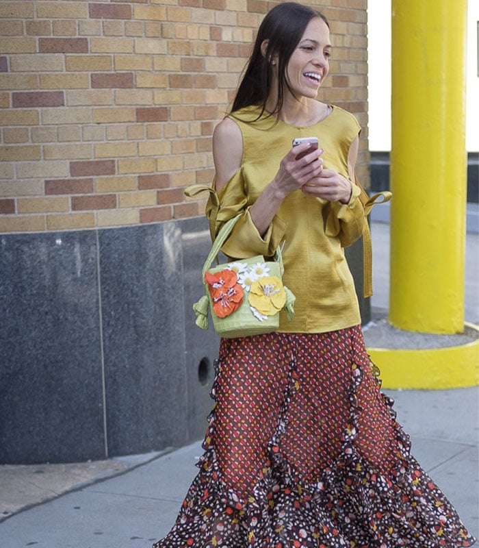 Streetstyle Inspiration From New York: Fabulous Prints | 40plusstyle.com