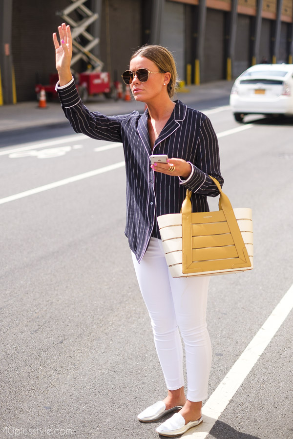 Classic in stripes | 40plusstyle.com