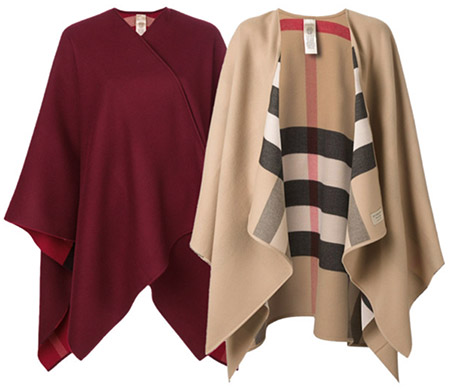 Items to splurge on: high fashion cape | 40plusstyle.com