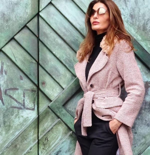 Stylish pink coats for women | 40plusstyle.com