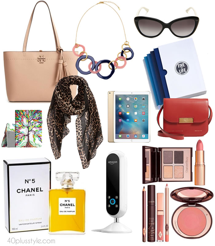 Gift ideas for women over 40 | 40plusstyle.com