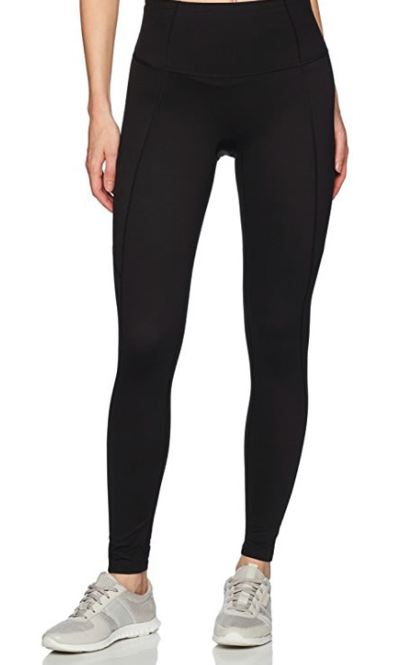 Oprah's favorite things: Spanx Active Women's Shaping Compression Close-Fit Pant Black Pants