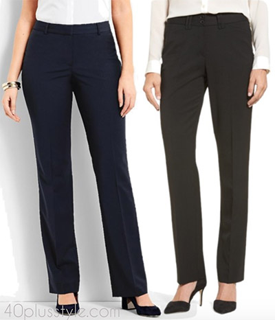Items to splurge on: proper fit trousers | 40plusstyle.com