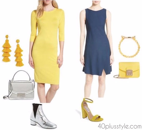 Styling a flattering versus unflattering color  40plusstyle.com