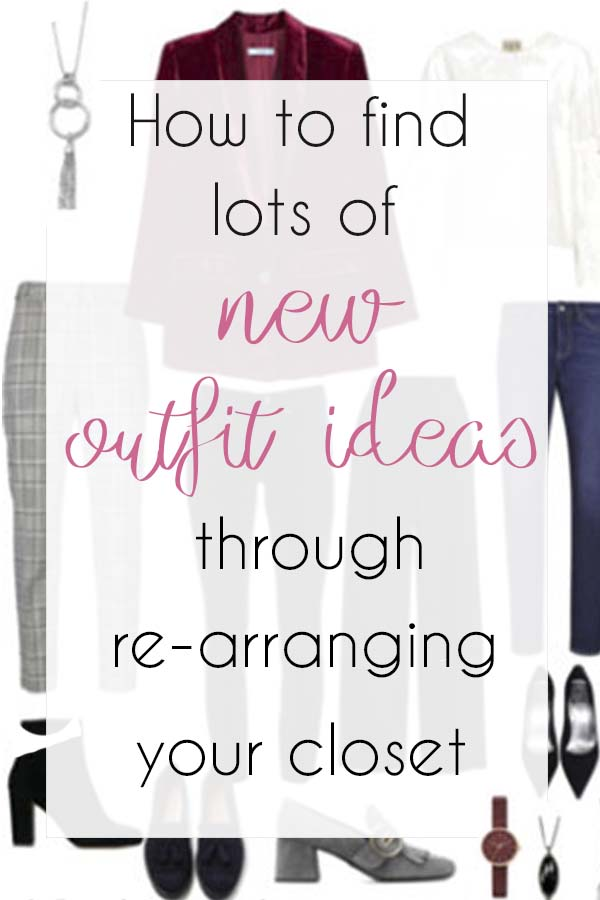 How to find lots of new outfit in your closet | 40plusstyle.com