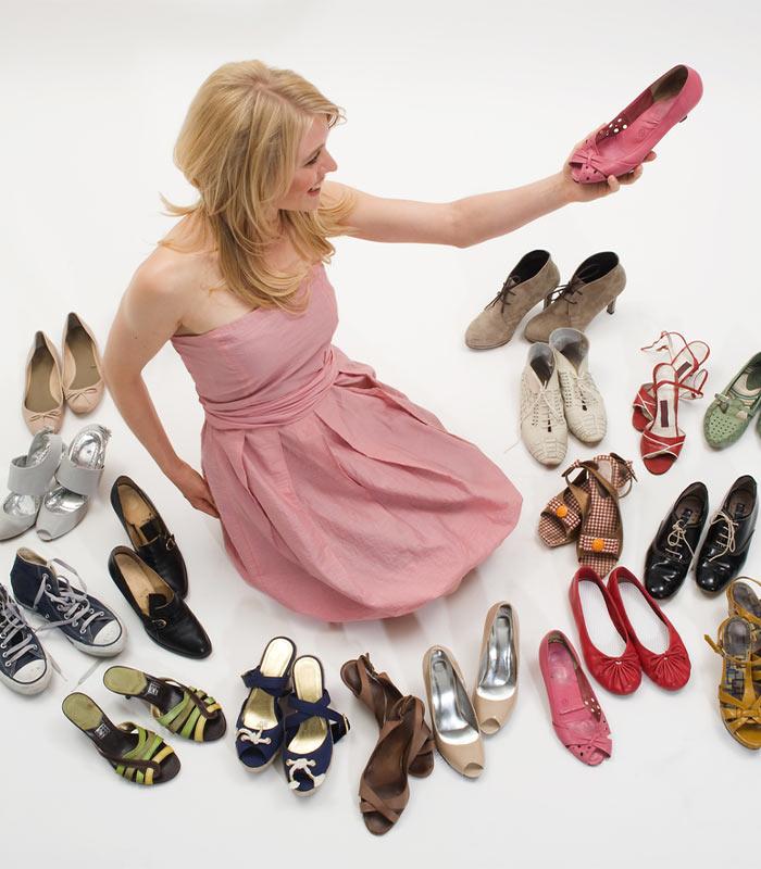 How to create a shoe capsule wardrobe